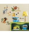 Disney Lion King gekleurde muur stickers