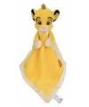 Knuffeldoekje leeuw Simba 25 cm